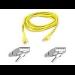 Belkin Patch cable - RJ-45(M) - RJ-45(M) - 15m - UTP ( CAT 5e ) - Yellow
