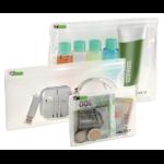 Leitz Traveller Zip toiletry bag PVC Transparent