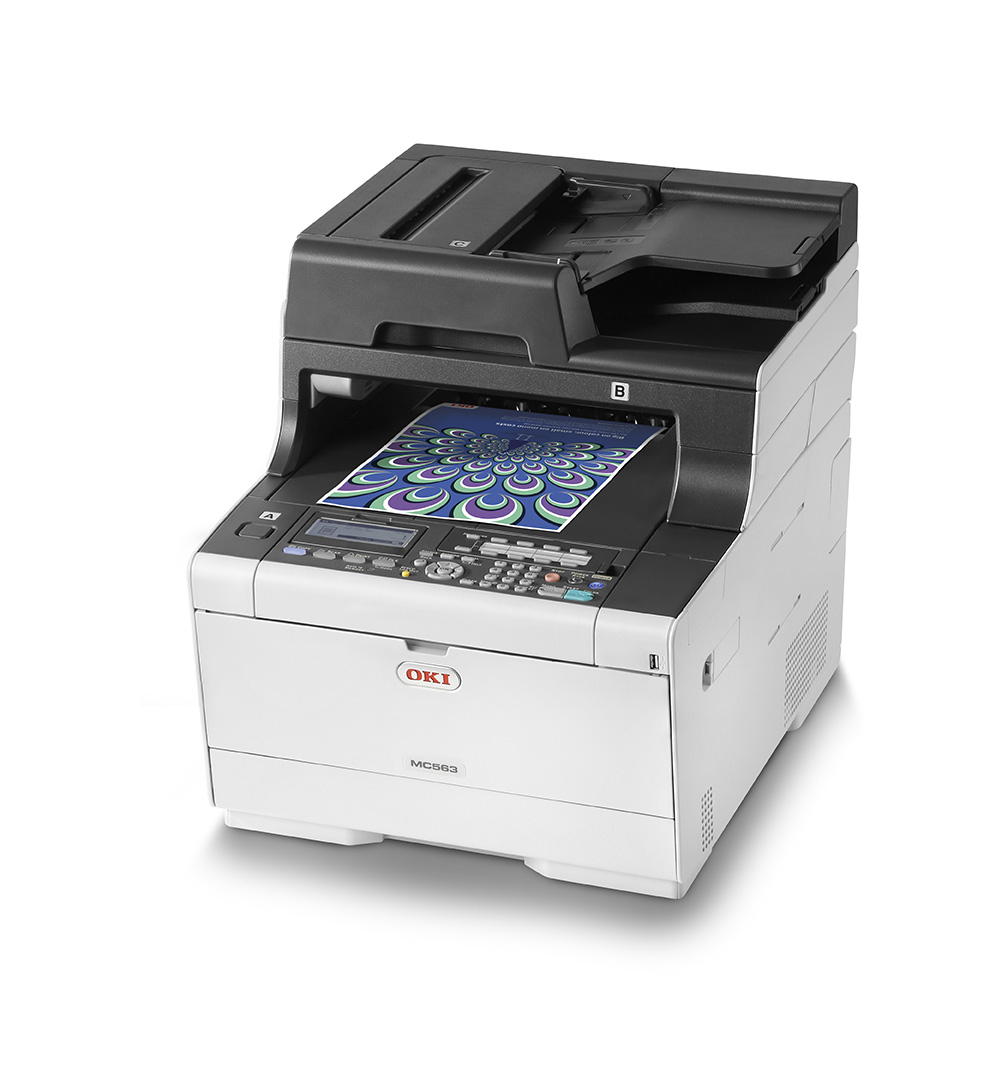 Mc563dn - Color Multifunction Printer - Laser - A4 - USB / Ethernet