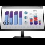 """HP P24q G4 60.5 cm (23.8"""") 2560 x 1440 pixels Quad HD LED Black"""