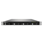QNAP TS-453U-RP NAS Rack (1U) Ethernet LAN Black