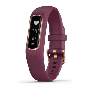Garmin vívosmart 4 OLED Waist belt activity tracker Wired & Wireless Rose Gold