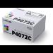 Samsung Paquete de 4 cartuchos de tóner negro/cian/magenta/amarillo CLT-P4072C