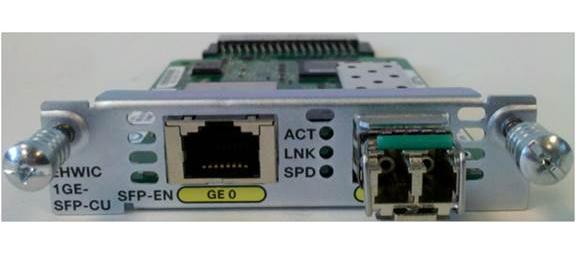 Cisco NIM-1GE-CU-SFP= network switch module Gigabit Ethernet