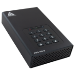Apricorn Aegis Padlock DT FIPS external hard drive 10000 GB Black