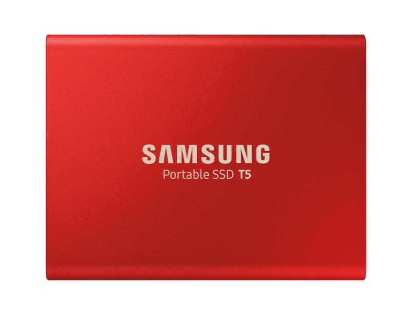 Portable SSD T5 USB 3 500GB Red