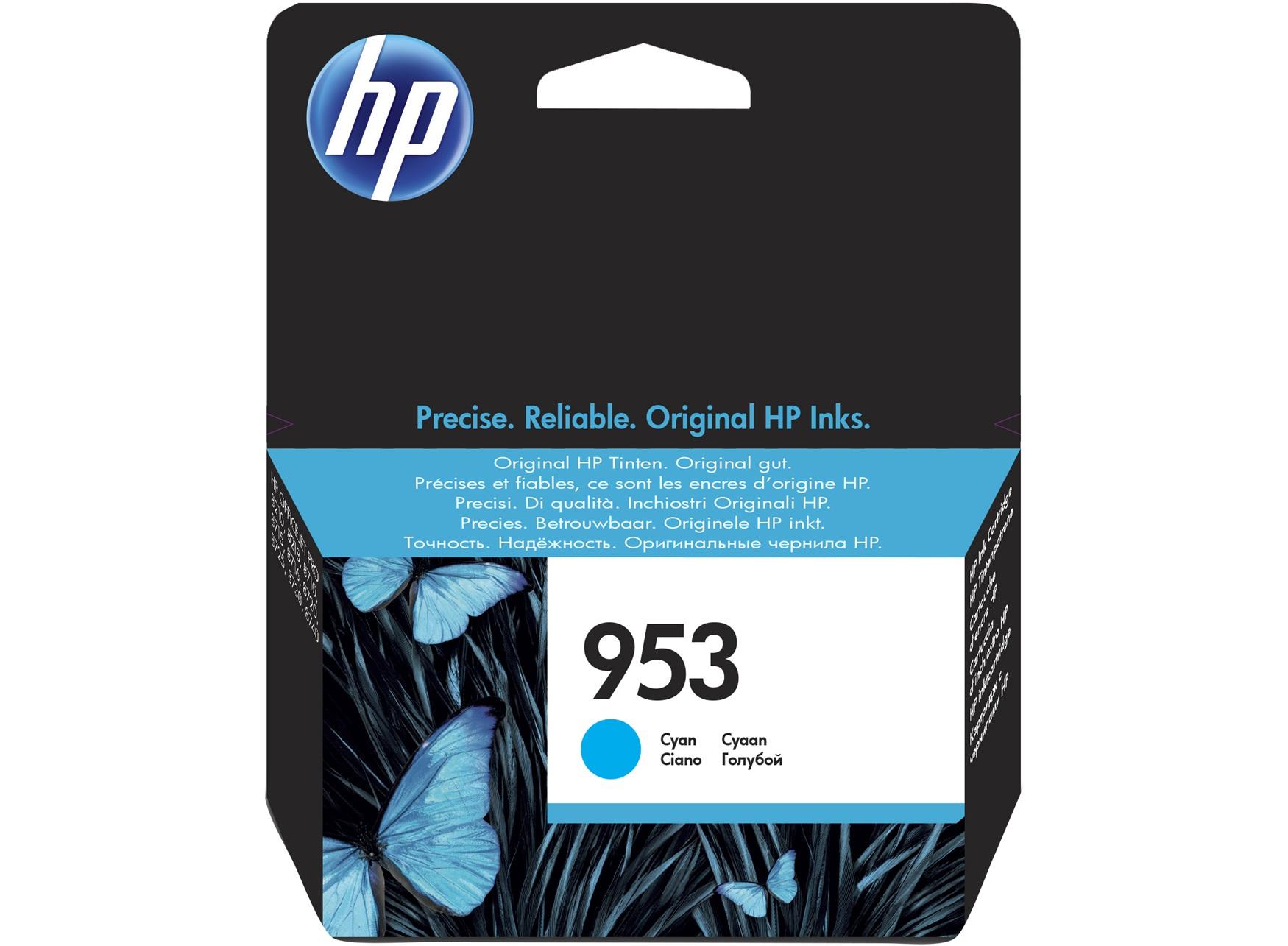 HP 953 Cyan Original Ink Cartridge 10ml 700pages Cyan ink cartridge