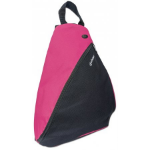 "Manhattan Dashpack Sling Backpack 12"", Black/Pink"