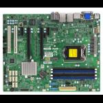 Supermicro X11SAE-F server/workstation motherboard Intel® C236 LGA 1151 (Socket H4) ATX
