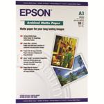 Epson Archival Matte Paper, DIN A3, 189g/m², 50 Sheets photo paper