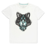 ASSASSIN'S CREED Valhalla Wolf T-Shirt, Male, Small, White (TS023160ASC-S)