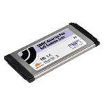 Sonnet SD-SXS-E34 Internal ExpressCard card reader