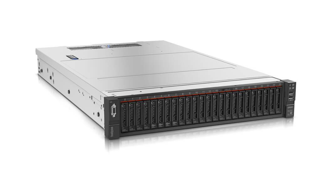 Lenovo ThinkSystem SR650 server Intel Xeon Silver 2.1 GHz 16 GB DDR4-SDRAM 61.44 TB Rack (2U) 750 W