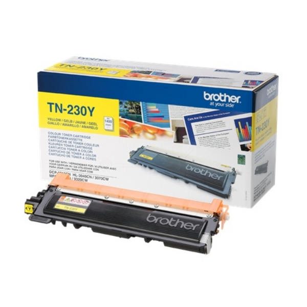 Brother TN-230Y Toner yellow, 1.4K pages