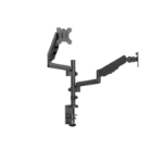 Brateck Dual Minitor  Full Extension Gas Spring Dual Monitor Arm (independent Arms) Fit Most 17'-32' Monitor