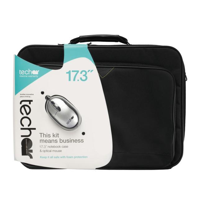 """Tech air TABUN33MV3 notebook case 43.9 cm (17.3"""") Briefcase Black"""