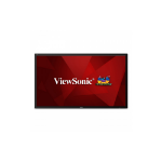 "Viewsonic CDE7500 Digital signage flat panel 75"" LED 4K Ultra HD Black signage display"