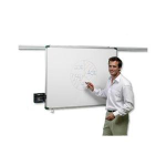 Nobo ProRail Non-Magnetic Drywipe Board 1800x900mm
