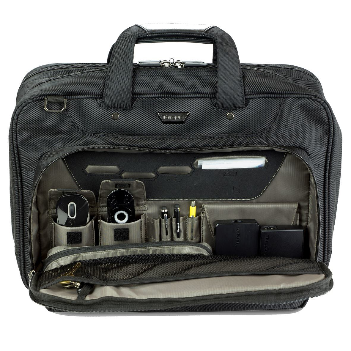 Corporate Traveller - 15.6in Notebook Topload Case - Black