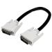 StarTech.com Cable de 0,3m DVI-D de Doble Enlace - Macho a Macho