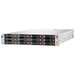 Hewlett Packard Enterprise StoreVirtual 4530 600GB 600GB Rack (2U) Black,Stainless steel disk array