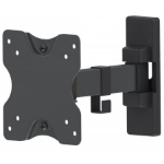 "Manhattan 461375 flat panel wall mount 68.6 cm (27"") Black"