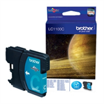 Brother LC-1100C Ink cartridge cyan, 325 pages, 6ml