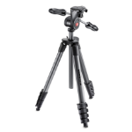 Manfrotto MKCOMPACTADV-BK Digital/film cameras Black tripod
