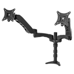 "Peerless LCT620AD 30"" Black flat panel desk mount"