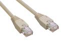 MCL Cordon ethernet categorie 6 non blinde 3m, noir cable de red Negro