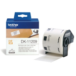 Brother DK-11209 P-Touch Etikettes, 29mm x 62mm, 800