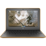 "HP Chromebook 11A G6 EE (3 = 2 6MP18EA) Grijs, Oranje 29,5 cm (11.6"") 1366 x 768 Pixels 7th Generation AMD A4-Series APUs A4-9120C 4 GB DDR4-SDRAM 16 GB eMMC Chrome OS"