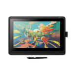 Wacom Cintiq 16 graphic tablet Black 5080 lpi 344.16 x 193.59 mm