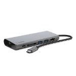 Belkin F4U092BTSGY interface hub USB 3.2 Gen 1 (3.1 Gen 1) Type-C 5000 Mbit/s Grey
