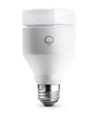 LIFX L3A19MC08E27 iluminación inteligente Bombilla inteligente Blanco Wi-Fi 9 W