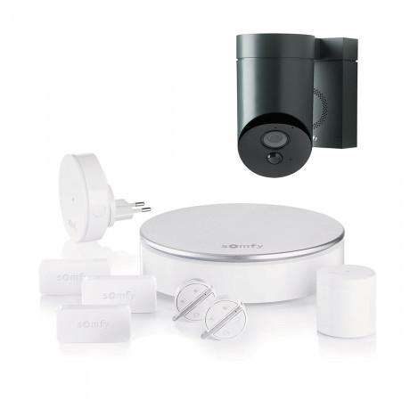 Somfy Home Alarm+ Outdoor camera Grey