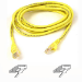 Belkin RJ45 CAT-6 Snagless UTP Patch Cable 3m yellow networking cable