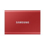 Samsung T7 1000 GB Red MU-PC1T0R/WW