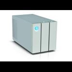 LaCie 2big Thunderbolt 2 8000GB Desktop Silver disk array