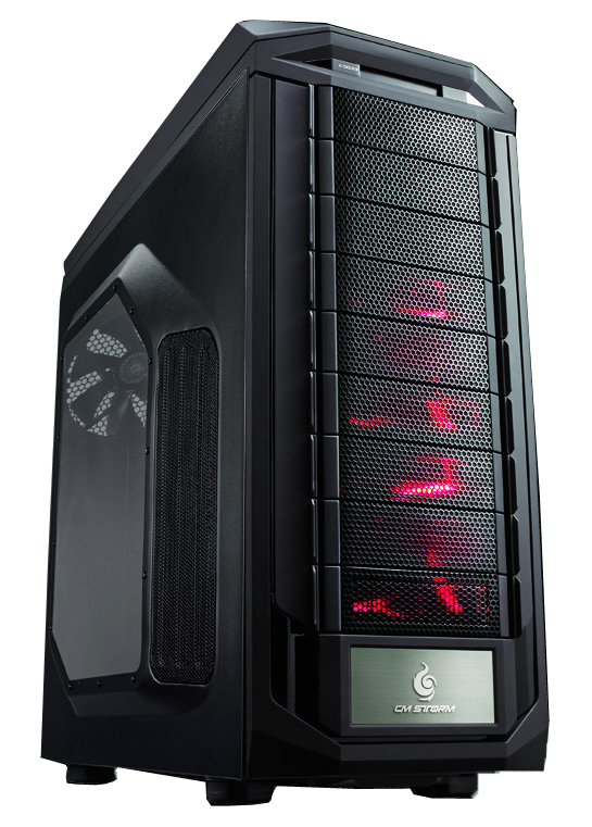 Cooler Master CM Storm Trooper Full-Tower Black computer case