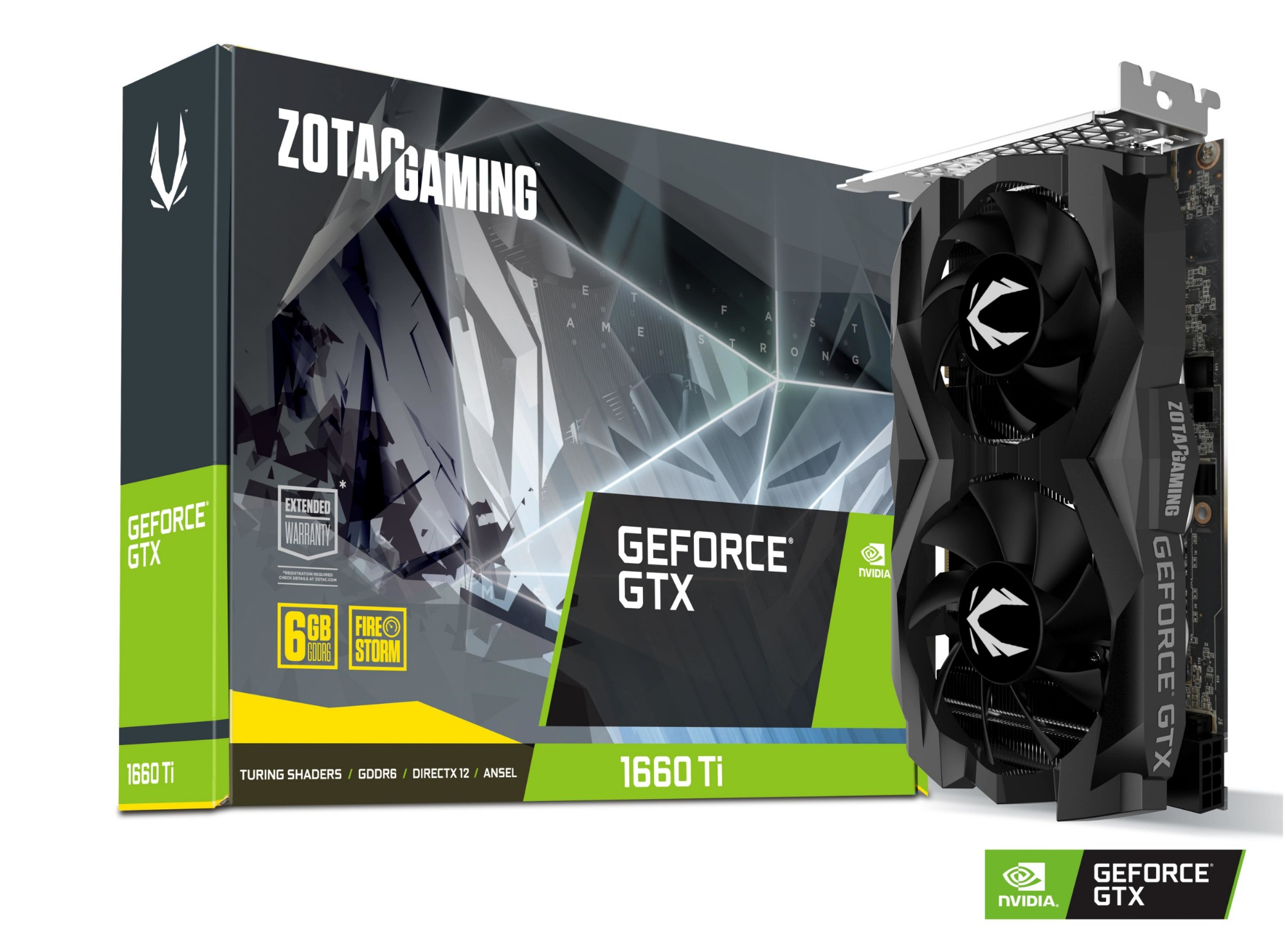Zotac ZT-T16610F-10L graphics card NVIDIA GeForce GTX 1660 Ti 6 GB GDDR6