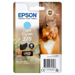Epson Squirrel Singlepack Light Cyan 378 Claria Photo HD Ink
