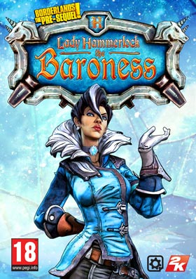Nexway Borderlands The Pre-Sequel: Lady Hammerlock the Baroness Pack (DLC) Video game downloadable content (DLC) PC Español