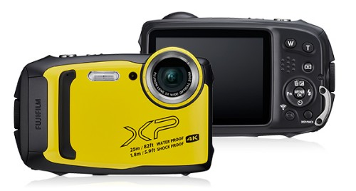 "Fujifilm FinePix XP140 Compact camera 16.4 MP 1/2.3"" CMOS 4608 x 3456 pixels Black,Yellow"