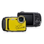 """Fujifilm FinePix XP140 Compact camera 16.4 MP 1/2.3"""" CMOS 4608 x 3456 pixels Black,Yellow"""