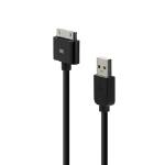 Belkin Basic iPhone/iPod Sync Charge Cable Black mobile phone cable