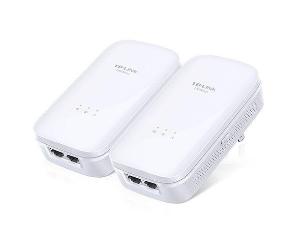 TP-LINK TL-PA7020 KIT 1000Mbit/s Ethernet LAN White 2pc(s) PowerLine network adapter
