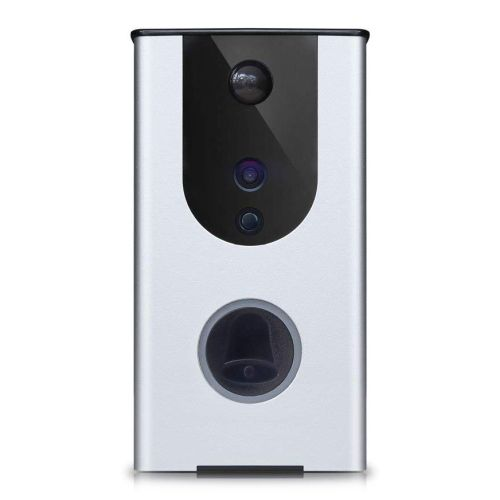 Dynamode Smart Outdoor Video Doorbell, Wireless, Day/Night, Motion Detect, 2-Way Voice, IP55, Self-P