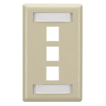 Black Box WPT466 wall plate/switch cover Ivory