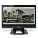 """HP Z1 3.5GHz Intel Xeon E3-1280 (3.50 GHz, 8 MB cache, 4 cores) 27"""" 2560 x 1440pixels Black"""